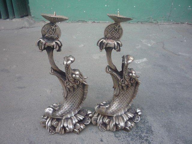 Чудова різьба по старому сріблу - пара - Домашній декор