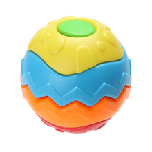 13cm Baby Crawling Toy Ball Puzzle Deformation Disassemble Educational Toy Puzzle Ball for Kids