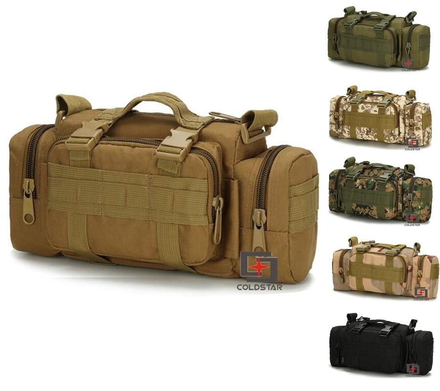 800d Goede Kwaliteit Outdoor Reistassen Militaire Tactische Taille Verpakking Canvas Camera Camping Schouder Sport Wandelen Messager Tas