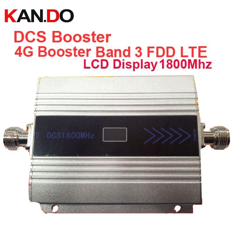 4G booster FDD LTE band 3 + DCS repeaterförstärkning 55dbi - Reservdelar och tillbehör för mobiltelefoner - Foto 1
