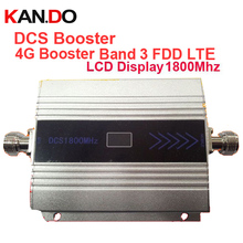 4G booster FDD LTE band 3+DCS repeater gain 55dbi LCD display function 1800Mhz DCS mobile phone signal booster and 4G repeater