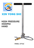 Hand Air Pump 4500PSI 300Bar 30Mpa High Pressure PCP Hand Operated Air Pump Hand Car Mini Panel Inflatable Pump with Gauge