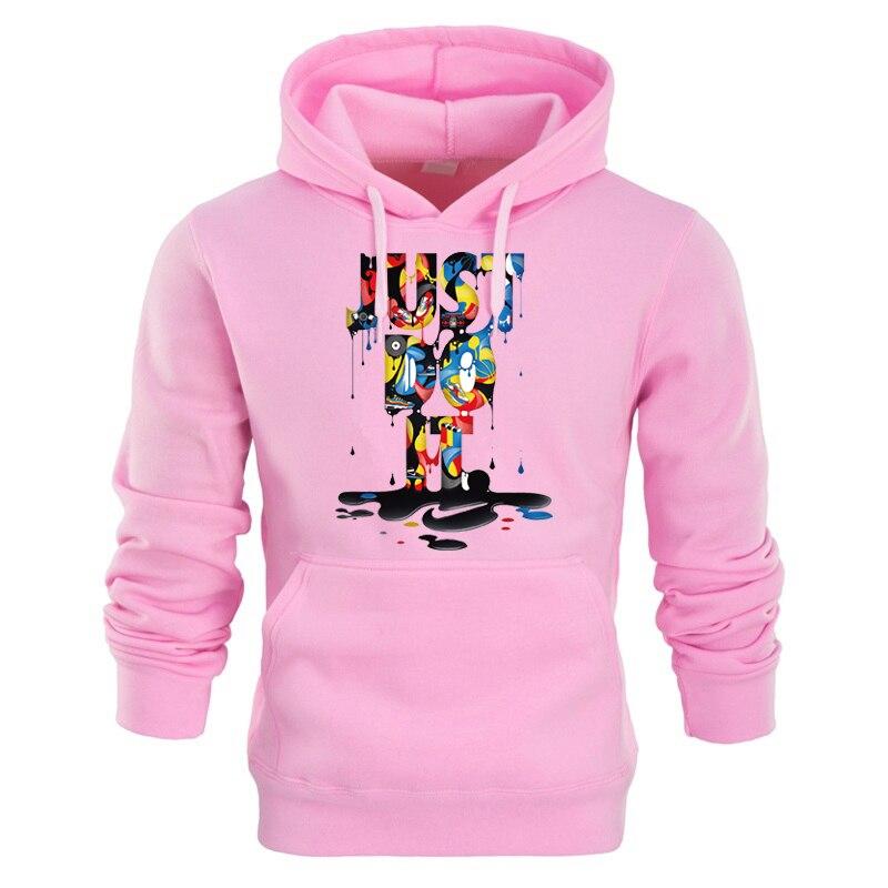 2018 New just do it hoodies fashion Streetwear hoody sweatshirt cotton mens women hoodie sweat homme sweatshirts men