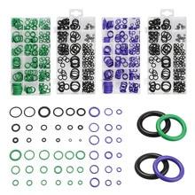 495Pcs/Pack O Ring Rubber Washer Seals Assortment Black O-Ring Gaskets Set oil resistance 36 Sizes For Car Gasket