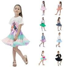 Модные пышные шифоновые юбки-американки; юбки-пачки для маленьких девочек; юбка принцессы; одежда для танцевальной вечеринки; юбка для девочек