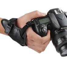 DSLR Camera Aperto de Mão Alça de Pulso 1/4 Parafuso de Montagem para Canon Nikon Sony Pentax Fujifilm Câmera Acessórios