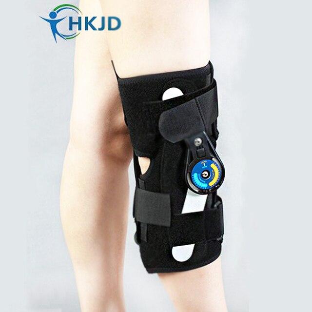 04b913787c knee joint fixation Adjustable Knee pads Sports Knee Brace Support  Orthopedic Hinged Splint Wrap Sprain Post-Op Hemiplegia