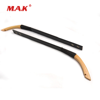 30 40 Lbs Mongolia Recurve Bow Wooden Limbs in 2 Pcs for Outdoor Archery Hunting Accessories