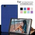 Для LG G pad 3 8.0 V525 8 ''tablet чехол для LG G pad 8.0 V525 фолио кожа PU несколько стенд случае