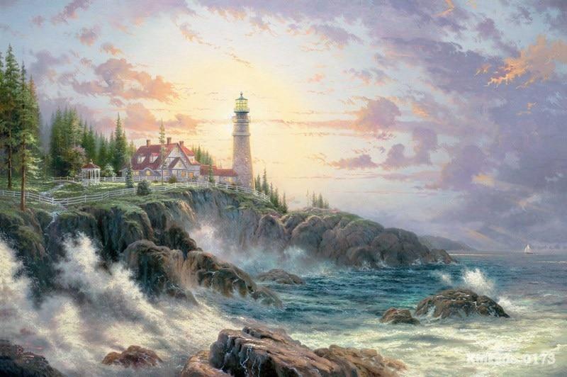 Thomas Kinkade Fall Wallpaper Thomas Kinkade Prints Of Oil Painting Clearing Storms