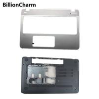 BillionCharm New Palmrest Upper Cover/Bottom Case Cover For HP ENVY M6 M6 N M6 N012DX 774153 001 760040 001 C and D Shell