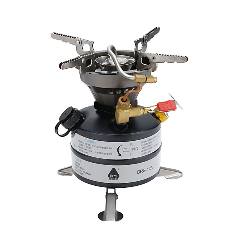 BRS Outdoor Oil Gas Multi Use Stove Cooking Camping Stove Cooker Big fire BRS 12A