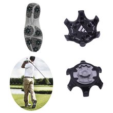 Golf Spikes Pins Turn Fast Twist Shoe Spikes Set Cleats Pins Golf Shoes Parts Black Run Travel Climb Shoes Accessories Hot 2018 hot sale lighted man golf shoes new pgm authentic golf shoes men s super japanese style without spikes sports men top003