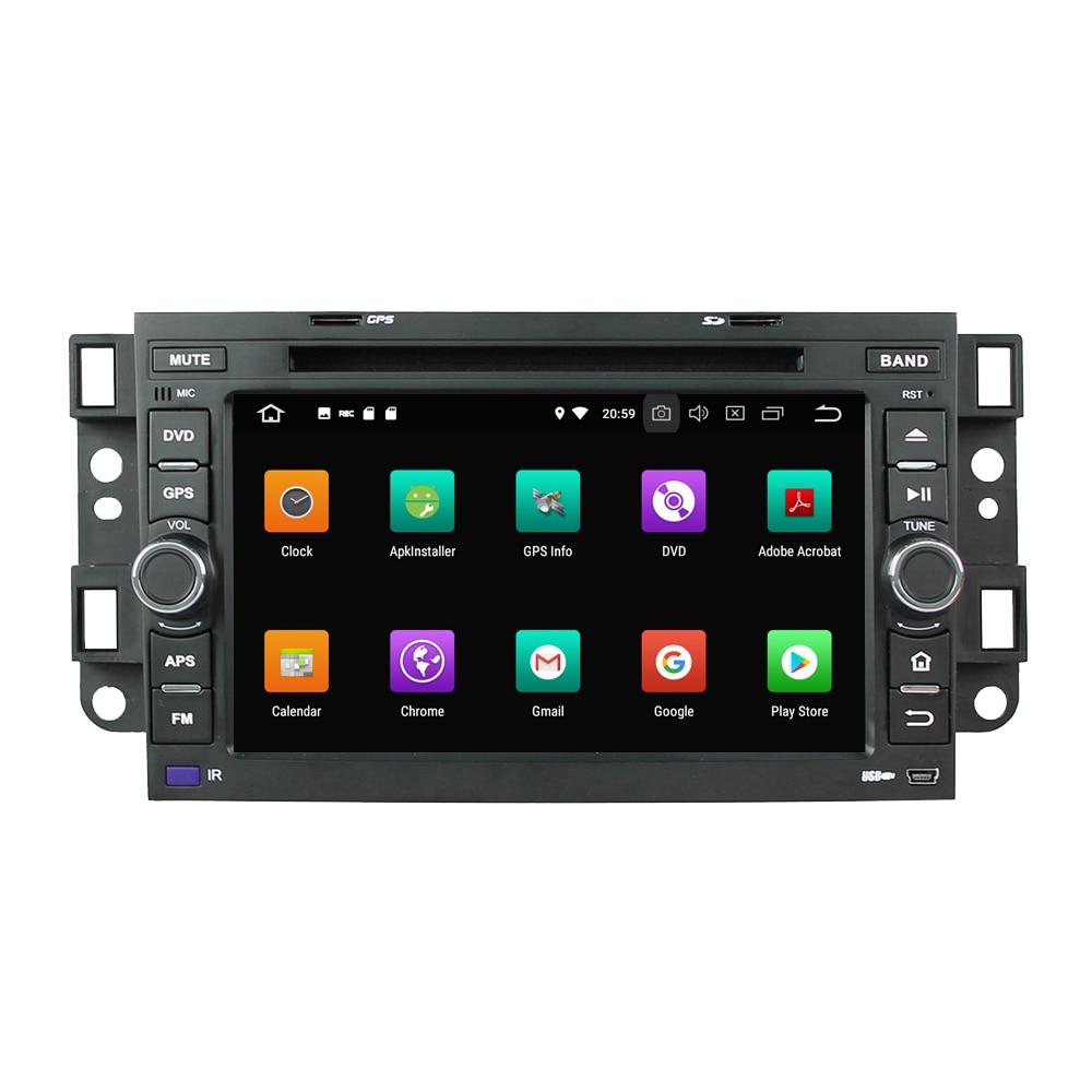 KLYDE 7 2 Din 8 Core Android 8.0 Voiture DVD Lecteur 32 gb Pour Chevrolet Aveo 2004-2011 epica Voiture Lecteur Multimédia