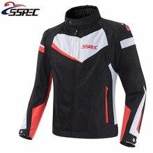 SSPEC Motorcycle Jacket Breathable Motorcycle Racing Jackets men Motocross Protective Jersey Moto Jacket Blouson Moto clothes