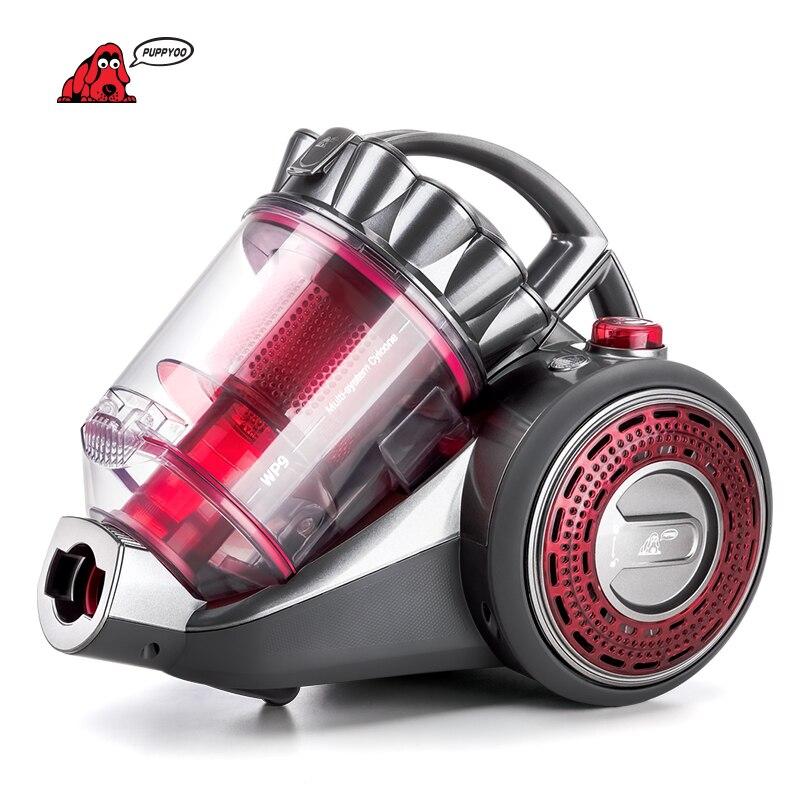 PUPPYOO aspirateur domestique grande capacité d'aspiration aspirateur puissant brosse Pet appareils de nettoyage multifonctions WP9