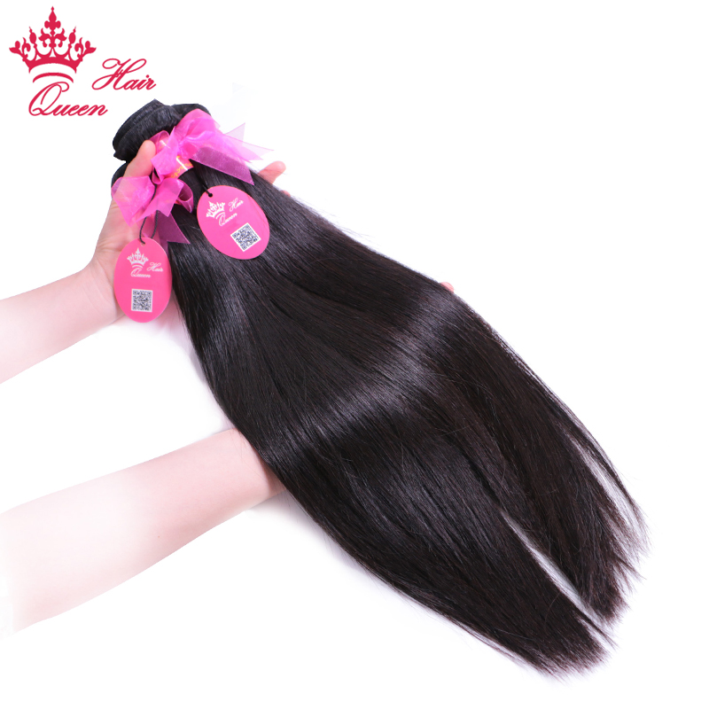 Brazilian Straight Hair Weave Bundle Deal 100% -os emberi - Emberi haj (fekete)