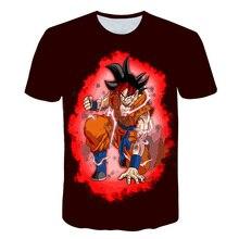 Dragon Ball T shirt 3D Men T-shits Anime T-shirt harajuku Comics Tops Goku Z print Tee Fashion Stranger Things