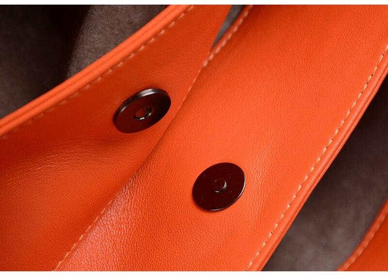 orange Designer Hand Handtasche Leder Umhängetasche Tasche pink dark Aus Schafe Rom Blue Frauen Black apricot grey Gewebt Mode Hjkl Haut yellow Große Kapazität Import Echtem q5RCCw