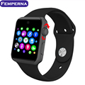 Lf07 smart watch bluetooth 1.54 pulgadas de pantalla hd tarjeta sim soporte de dispositivos portátiles de gimnasio rastreador smartwatch para android ios teléfono