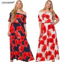 2017 Women Asymmetrical Dress Plus Size O Neck Loose Party Patchwork Dresses Casual Long Maxi Dress