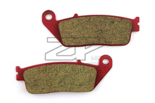 Motorcycle Parts Brake Pads Fit KYMCO Venox 250 2000 2014 Front Red Composite Ceramic Free shipping