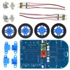 OPEN SMART N20 Gear Motor 4WD Bluetooth Controlled Smart Robot Car Kit W Tutorial For Arduino