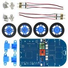 OPEN-SMART N20 Gear Motor 4WD Bluetooth Controlled Smart Robot Car Kit w/ Tutorial for Arduino