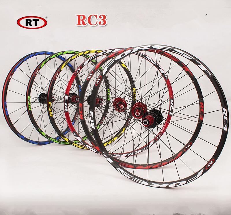RC3 MTB mountain bike 26inch ultra light wheels 5 peilin sealed bearing disc wheel wheelset 27