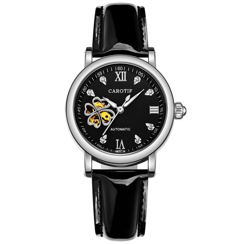 Carotif Fashion automatyczne zegarki mechaniczne damskie - Zegarki damskie - Zdjęcie 3
