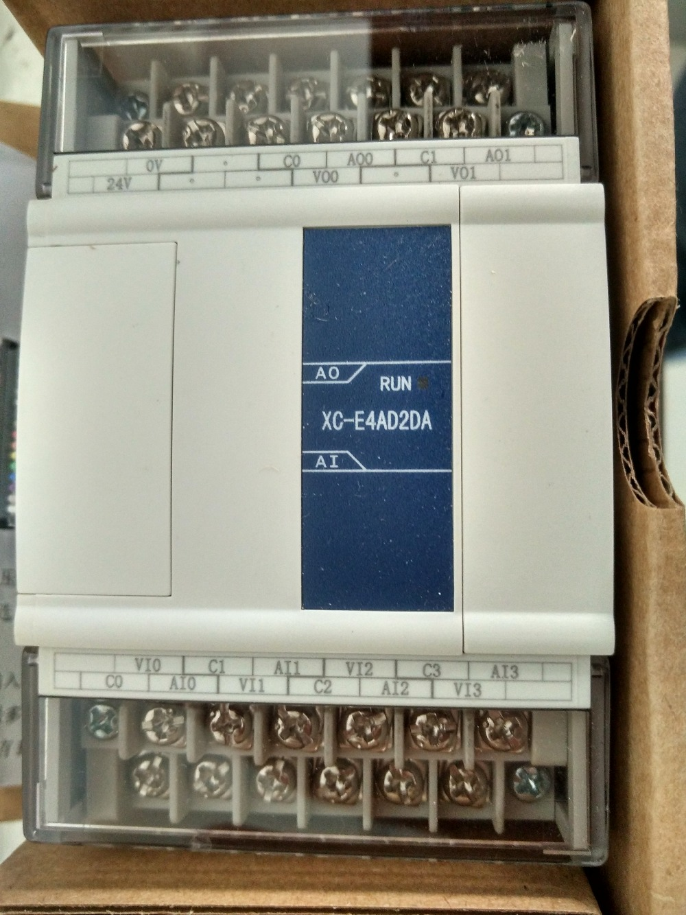 XC E4AD2DA XINJE XC Series PLC Analog Module AI4 AO2 new in box