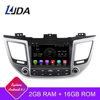 LJDA Android 9.1 Car dvd player for Hyundai Tucson/IX35 2016 2017 2Din Car Radio gps navigation stereo multimedia WIFI autoaudio