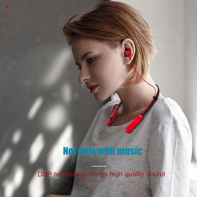 8 Hours Playing Wireless Bluetooth Earphone for Phone Bass Bluetooth Headset Earphones with Mic fone de ouvido for Xiaomi Mi A1