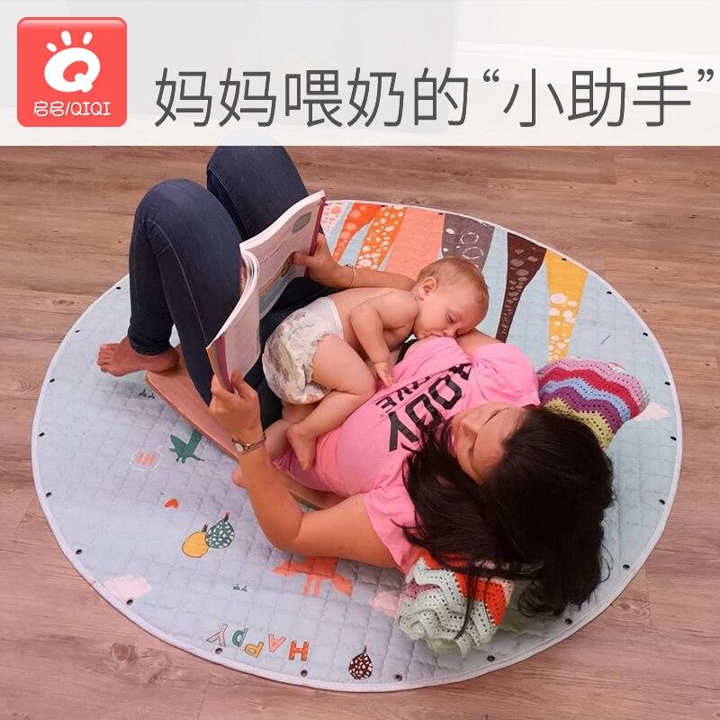 Maison en bois grande balançoire courbe bébé double couche jouet favorise l'équilibre sportif jouets d'intérieur - 3