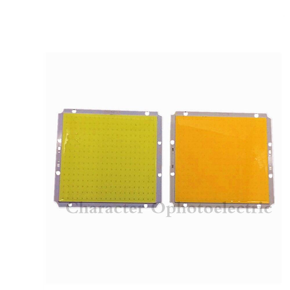 100x95mm Ultra Bright Rectangle Square 50W LED COB Light Matrix DC 12V 14V 3000K 6500K Warm Cold White 100mm DIY Car Lamp