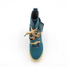 Fashion Women Boots Style Lace Up High Heels Boots Waterproof Platform Ankle Boots for Women Shoes New Sale Shoes Women