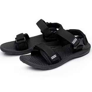 Plus Size 38 45 Men s Beach Flat Sandals New Design Fashion Hook Loop Summer Footwear