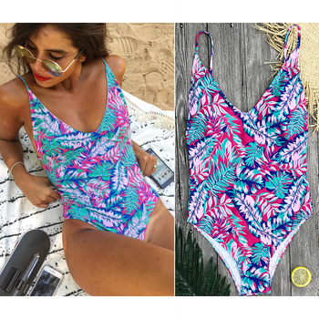 One Piece Cross Back Vintage Monokini 1