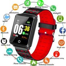 цена LIGE Smart Bracelet Men Depth IP68 Waterproof Blood oxygen Heart Rate Monitor Calorie Pedometer Information Remind Sport Watch онлайн в 2017 году