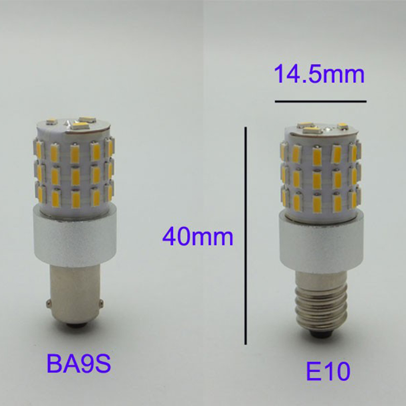 AMYWNTER Car ba9s led 24v lampor för t4w ba9s led canbus 3W power - Bilbelysning - Foto 4