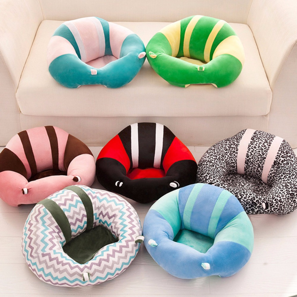 Children Furniture Creative 0-2y Kid Baby Support Seat Sofa Sitting Chair Cushion Infant Soft Plush Lounger Learning To Sit Posture Pillow Travel Car Seat