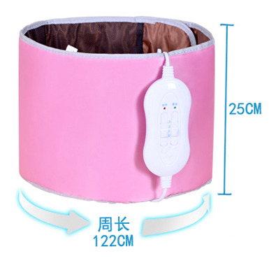 Waist Massager moxibustion massage device abdominal Warm Electric Heating Far infrared Vibrating massage belt trainer anyone care far infrared warm moxibustion belt electric waist hot compress for womb cold massage belt