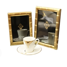 High-end US-European style copper photo frame modern simple metal