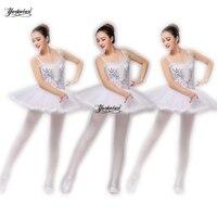 Yackalasi 2019 new Ballet tutu Professional Puff Skirt Ballet Dance Costume for Children and Adults Blue tutu skirt