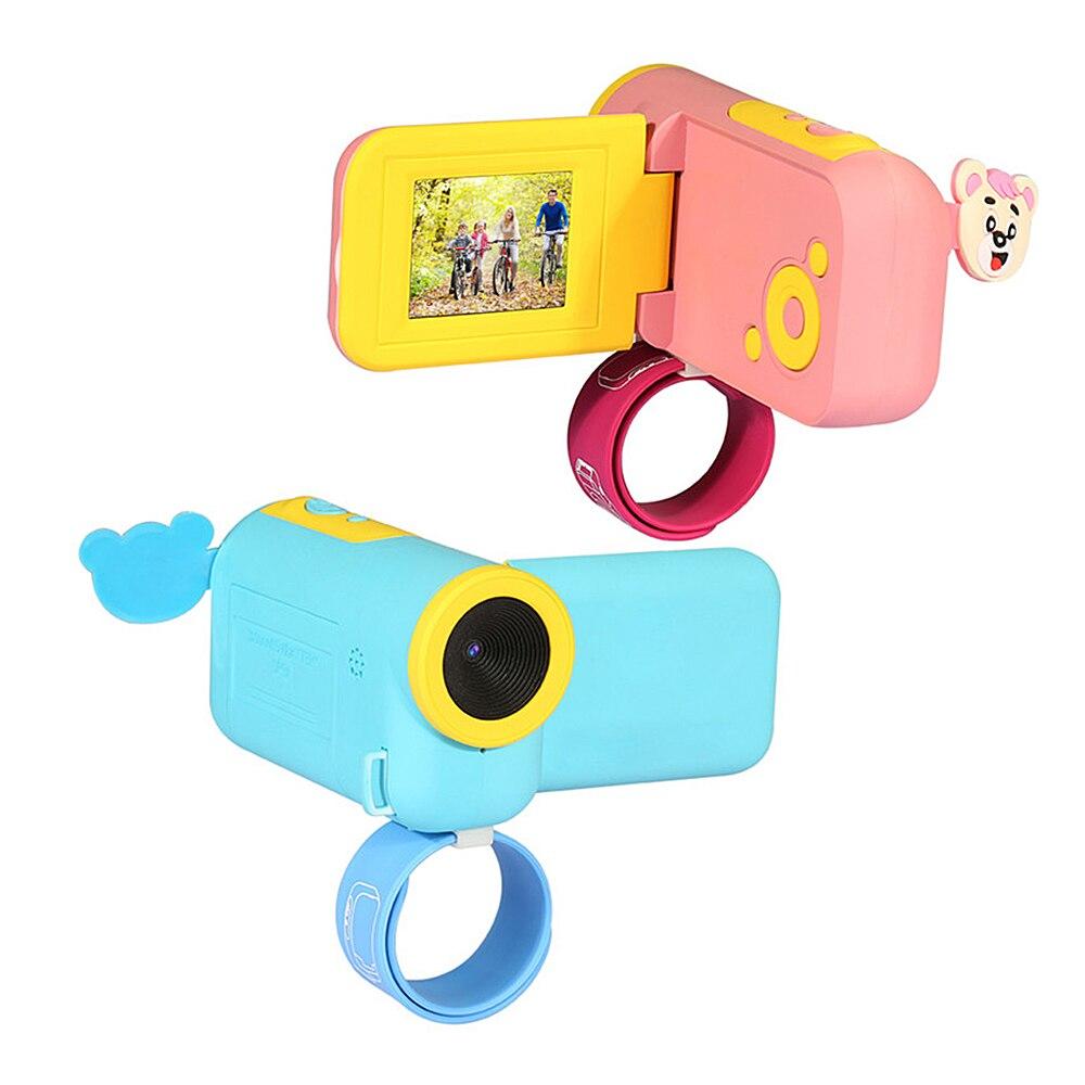 Mini Children Kids Digital Video Camera DV W/ Cartoon Stickers Christmas New Year Birthday Festival Gift For Children Boys Girls