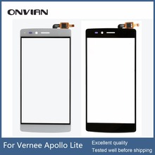 Vernee Apollo Lite Touch Screen Original for 5.5 Inch Apollo Lite touchscreen without lcd  Digitizer Assembly Repair module