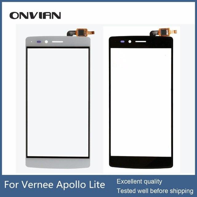 Vernee Apollo Lite Touch Screen Original for Apollo Lite touchscreen without lcd  Digitizer Assembly Repair module