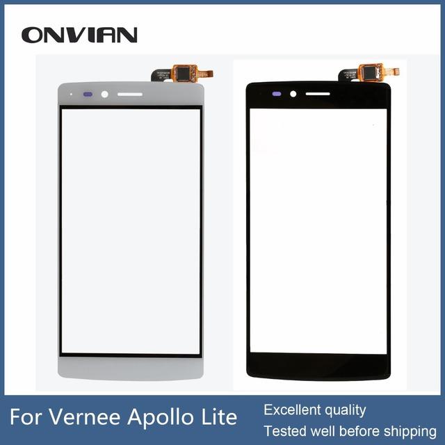 Vernee apollo lite tela sensível ao toque original para apollo lite touchscreen sem lcd digitador assembléia repair módulo
