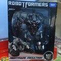 FÃS MODELO TF KO Megatron Transformação robot filme versão Asia Limited Edition roxo 24 cm alta conter movable mão esquerda