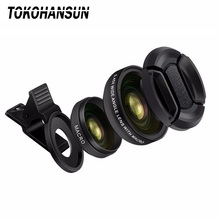 Professional HD phone Camera Lens Kit 0.63X 0.45 Wide Angle